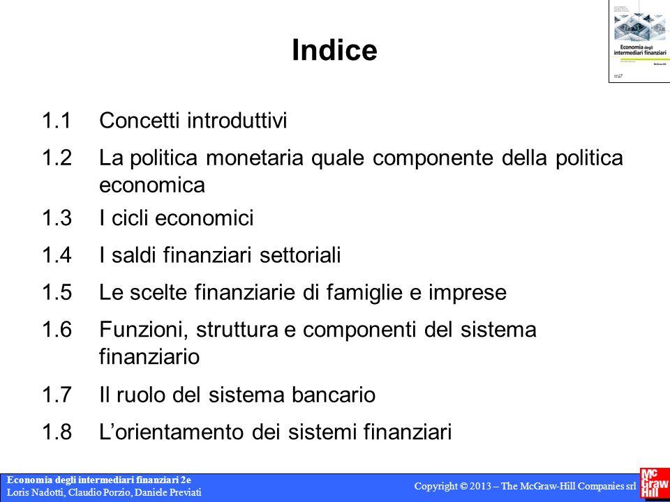 Indice 1.1 Concetti introduttivi 1.2