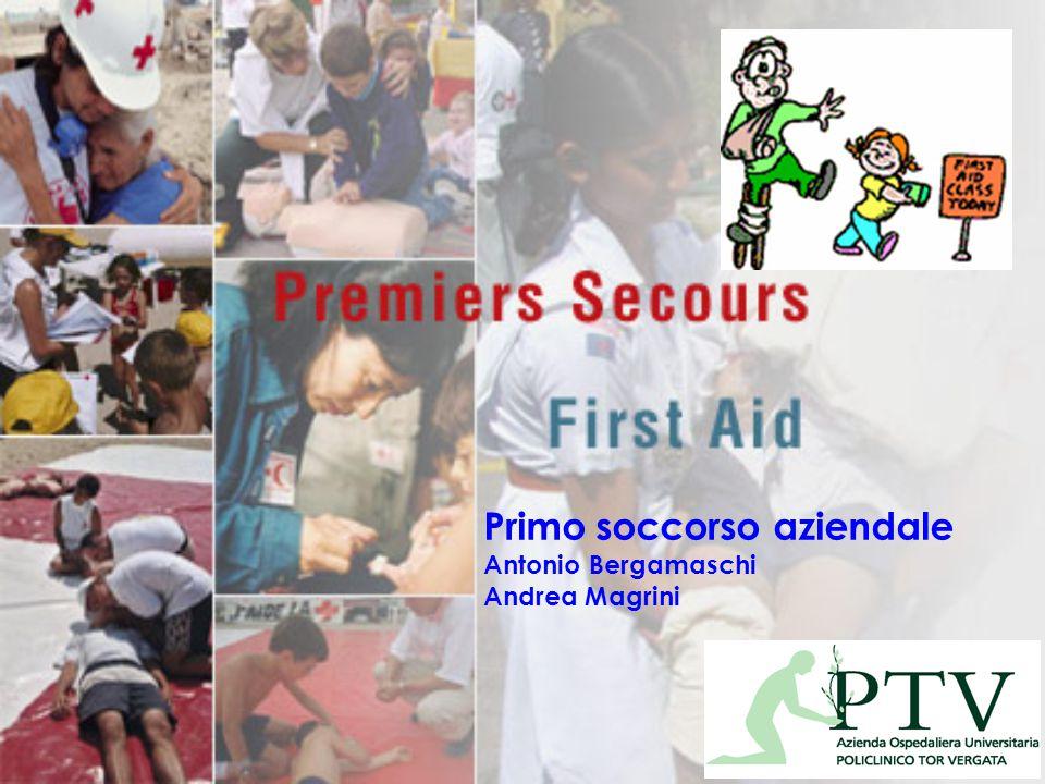 Primo soccorso aziendale Antonio Bergamaschi Andrea Magrini
