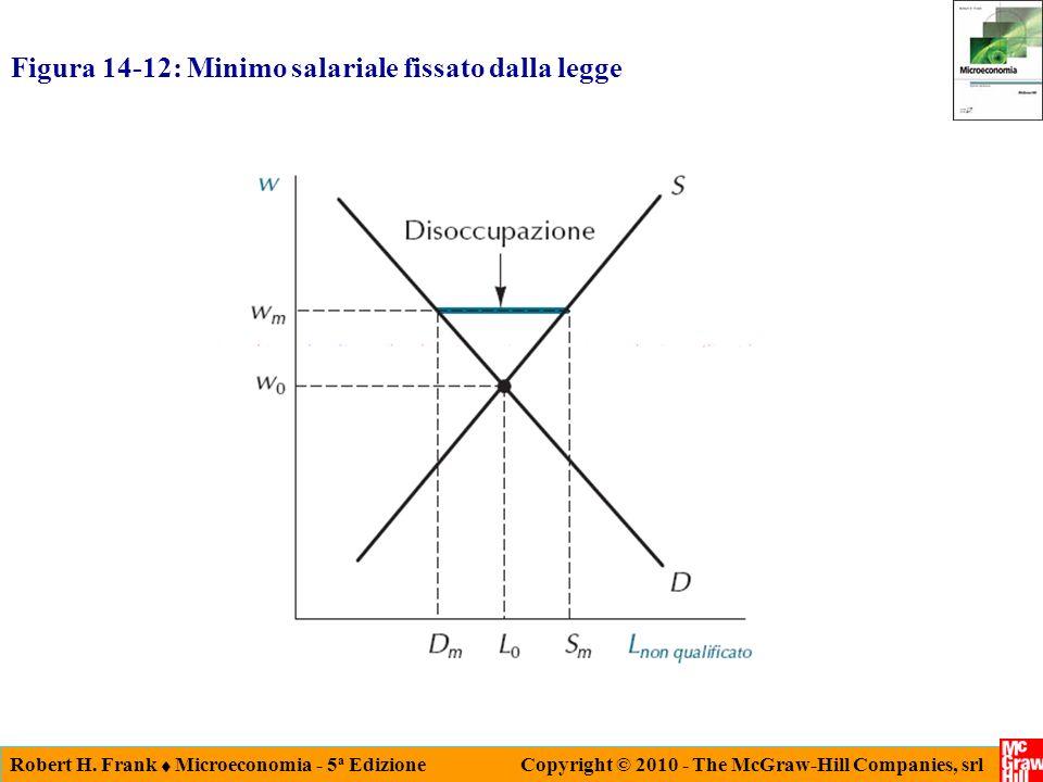 Figura 14-12: Minimo salariale fissato dalla legge