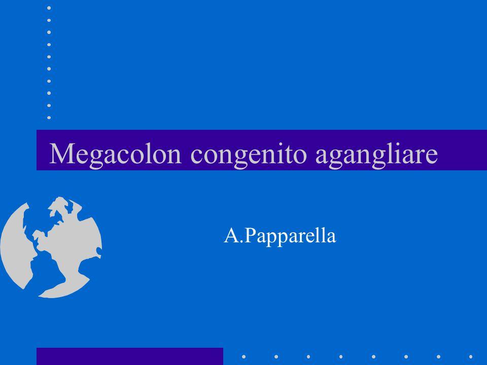 Megacolon congenito agangliare