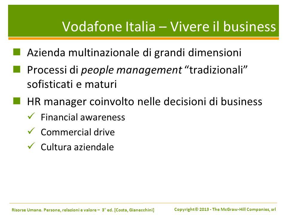 Vodafone Italia – Vivere il business