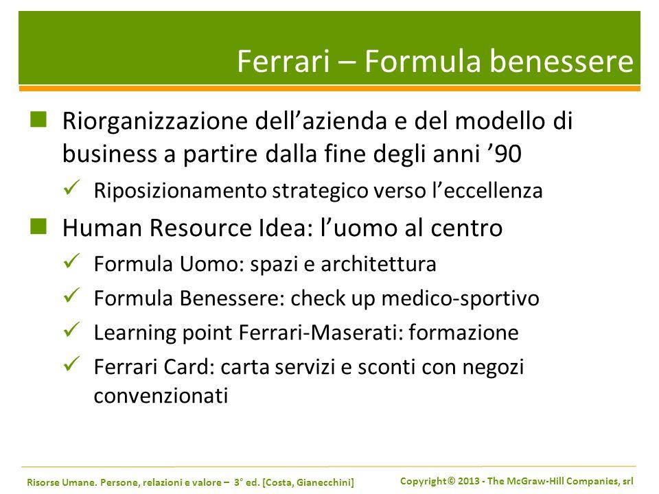 Ferrari – Formula benessere