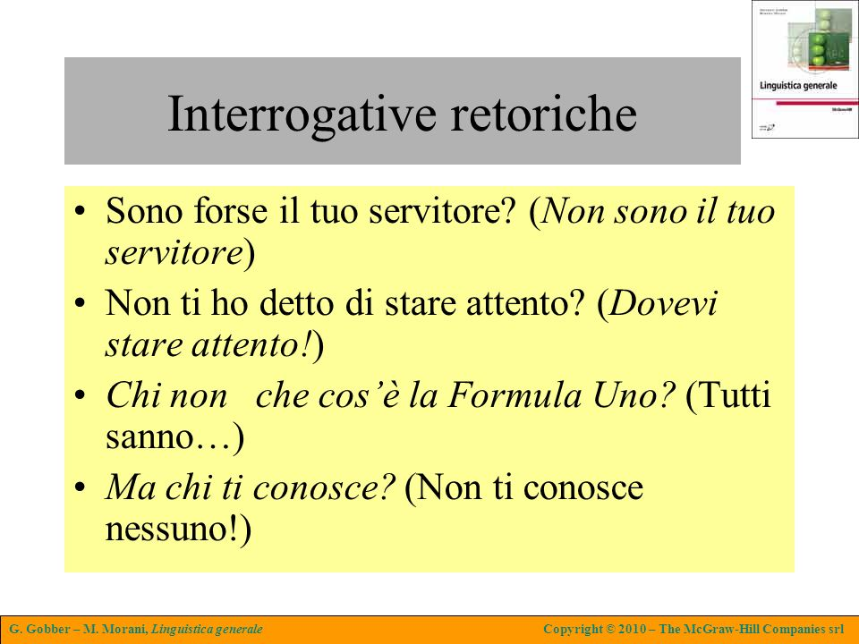 Interrogative retoriche