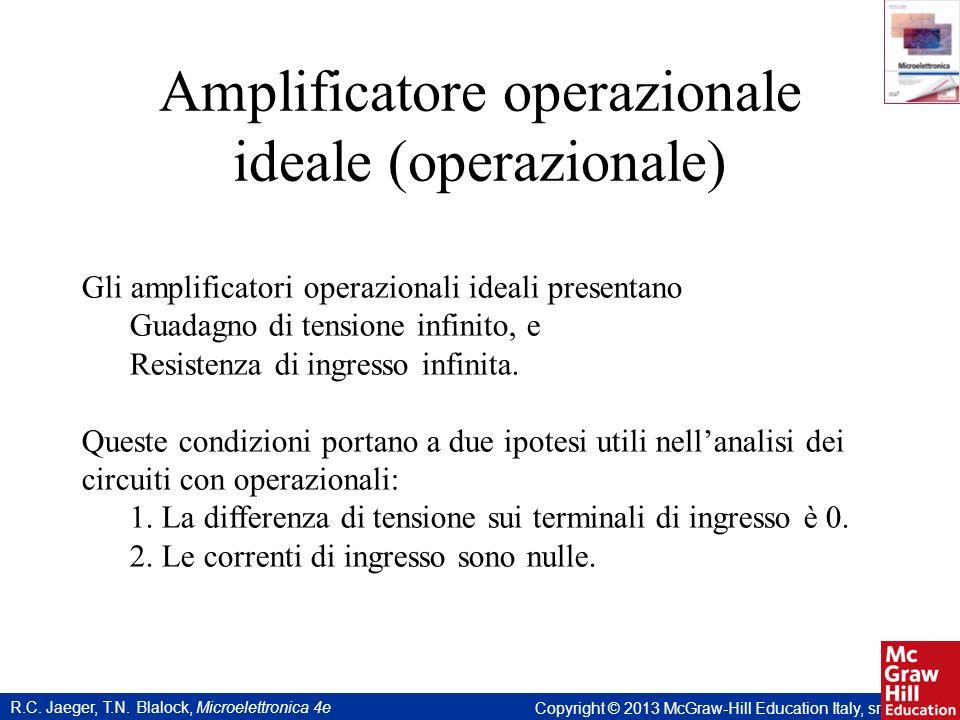Amplificatore operazionale ideale (operazionale)