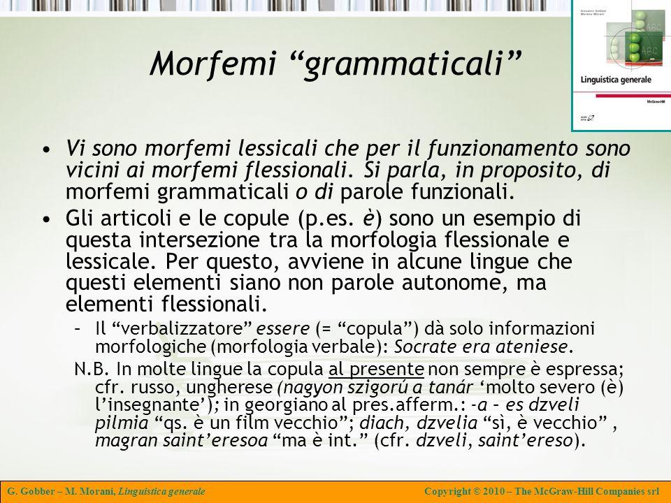 Morfemi grammaticali