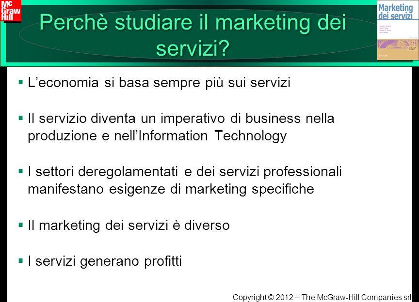 Perchè studiare il marketing dei servizi