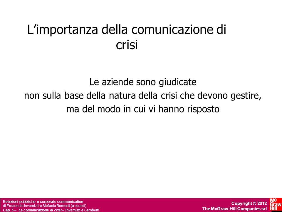 L'importanza della comunicazione di crisi