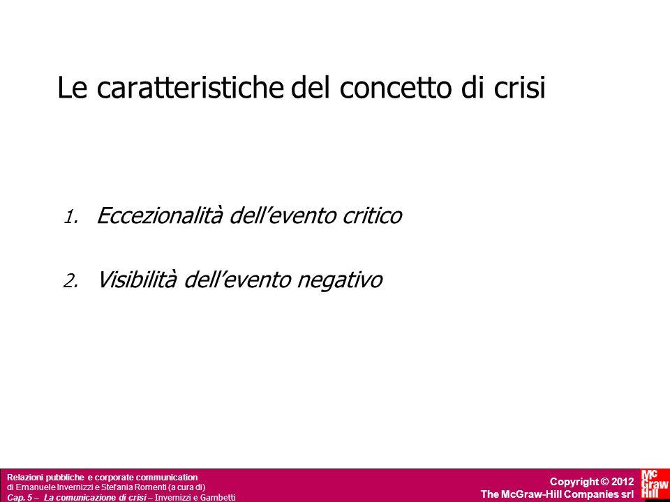 Le caratteristiche del concetto di crisi