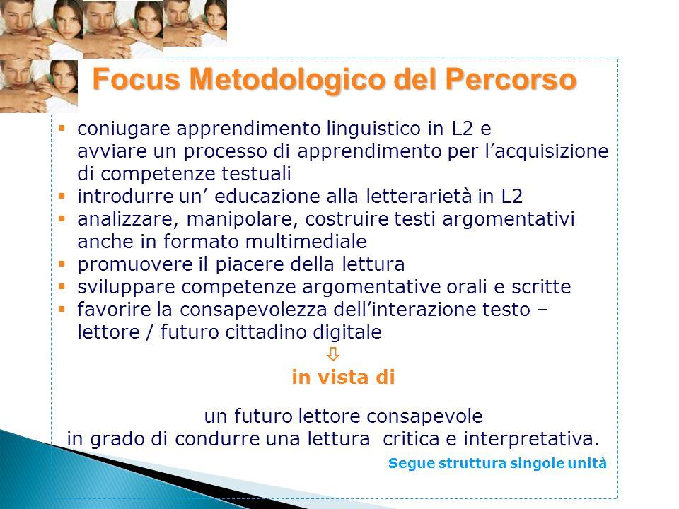 Focus Metodologico del Percorso