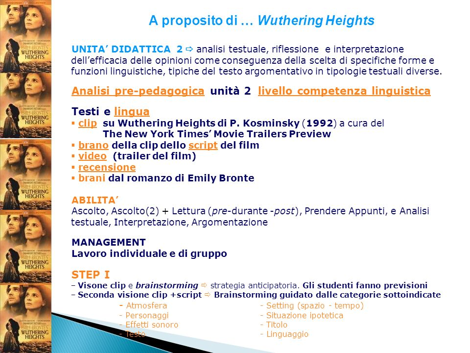A proposito di … Wuthering Heights