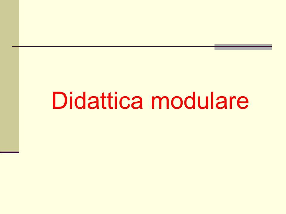 Didattica modulare