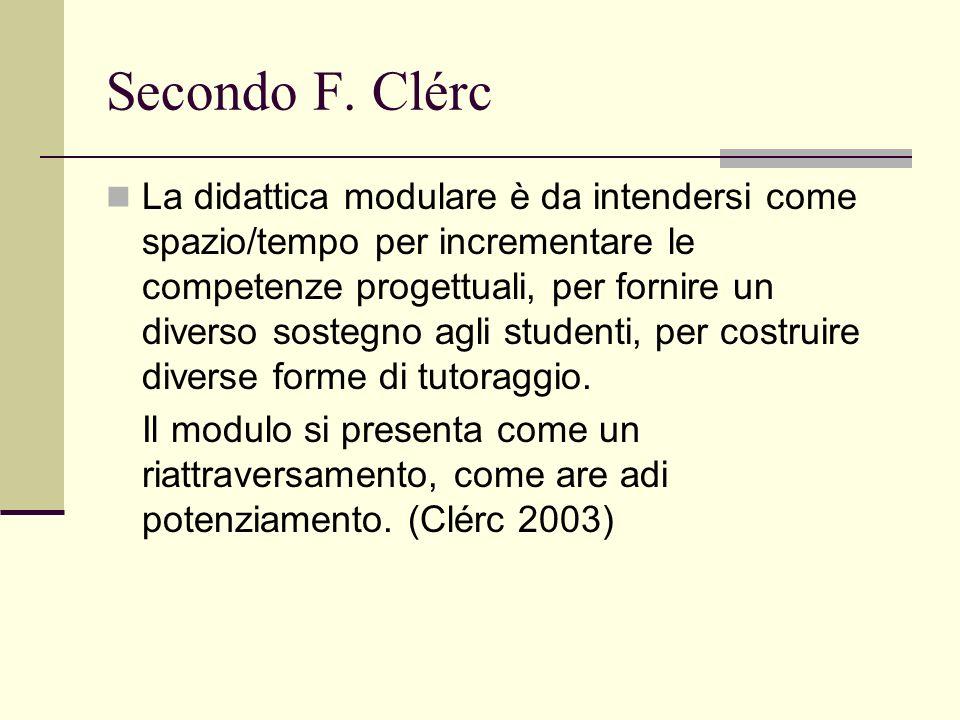 Secondo F. Clérc