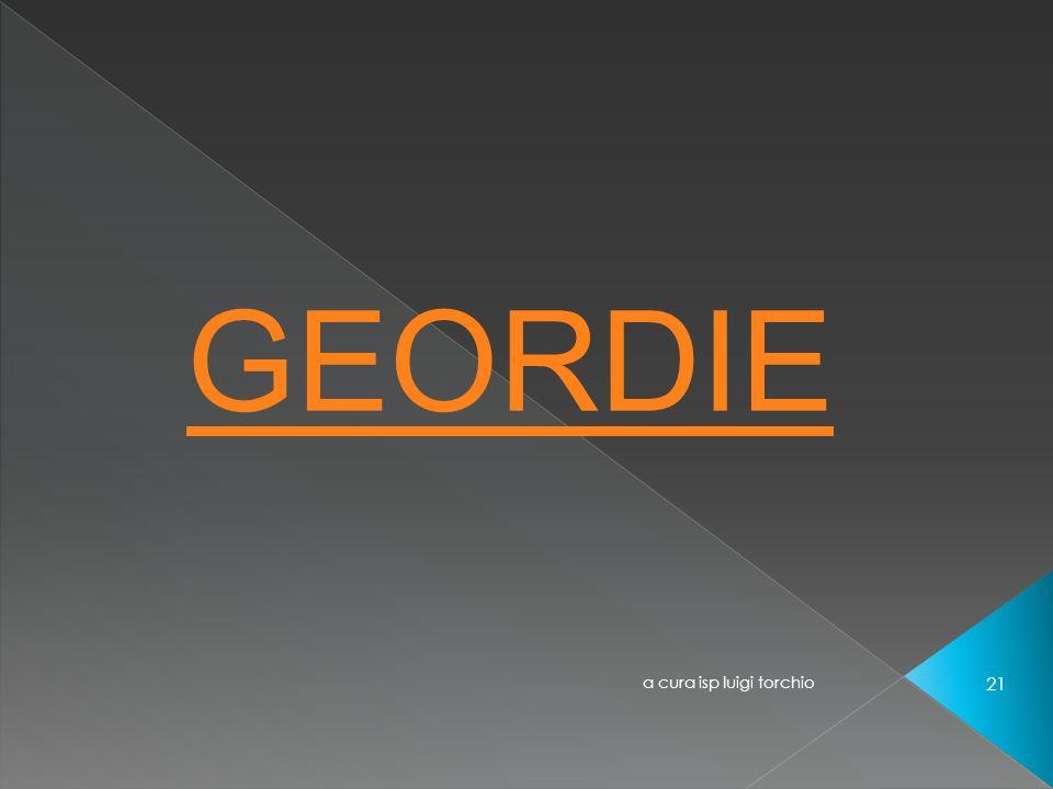 GEORDIE a cura isp luigi torchio