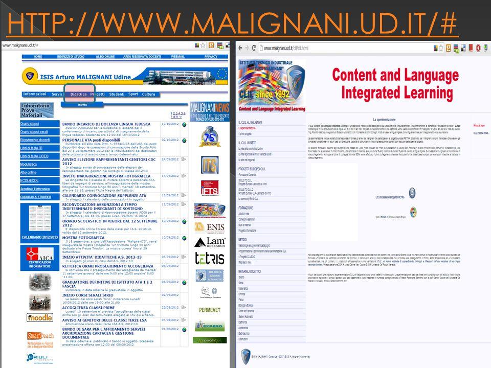 HTTP://WWW.MALIGNANI.UD.IT/# a cura isp luigi torchio