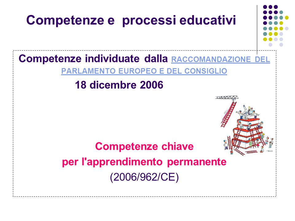 Competenze e processi educativi