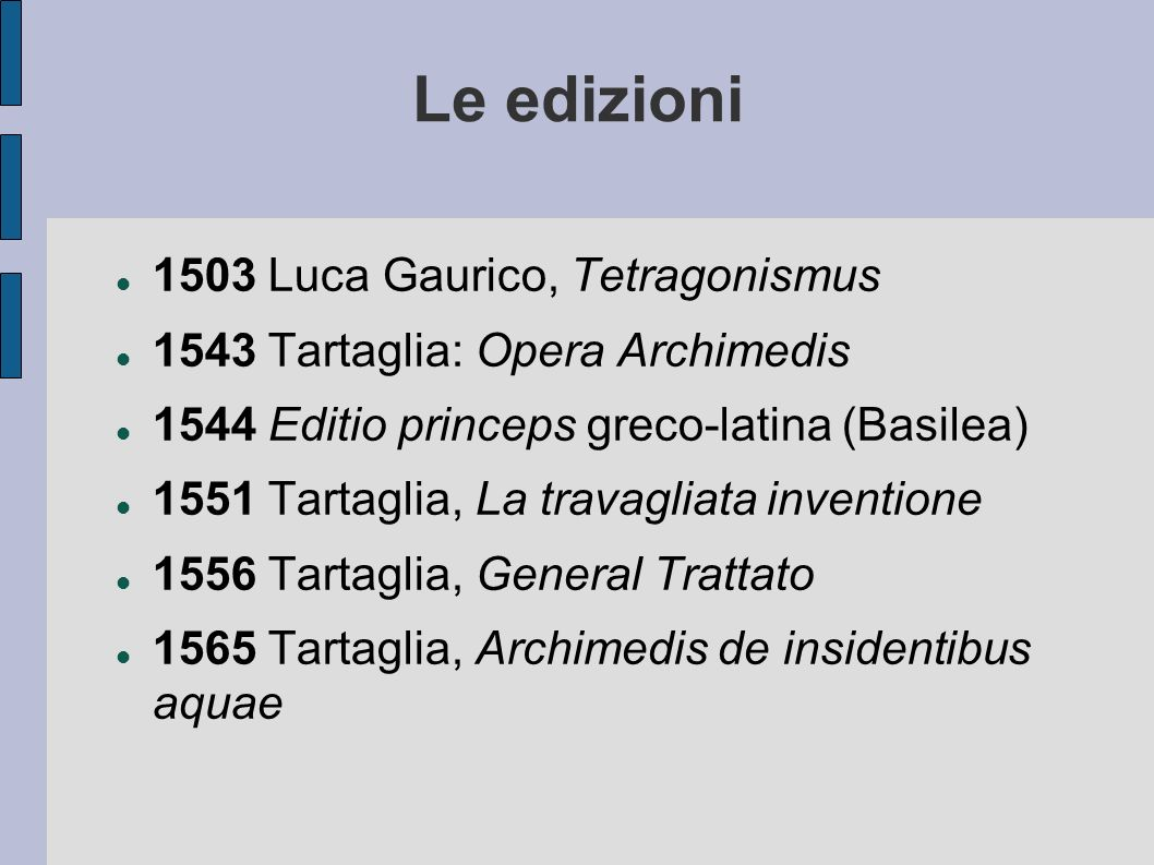 Le edizioni 1503 Luca Gaurico, Tetragonismus