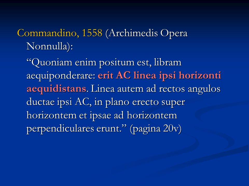 Commandino, 1558 (Archimedis Opera Nonnulla):