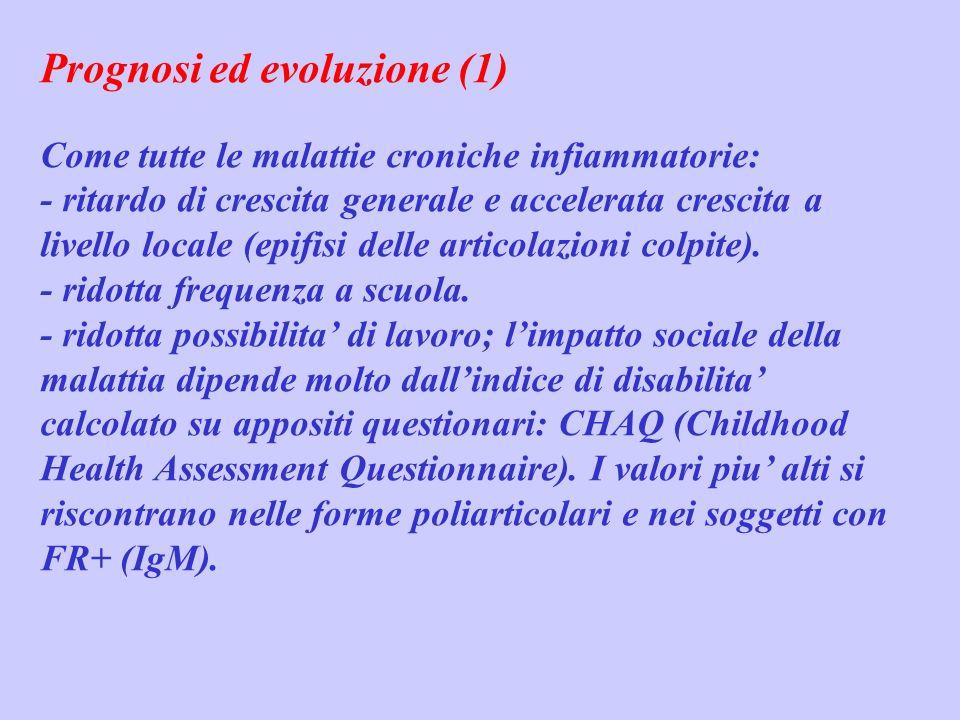 Prognosi ed evoluzione (1)
