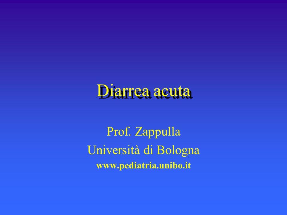 Prof. Zappulla Università di Bologna www.pediatria.unibo.it