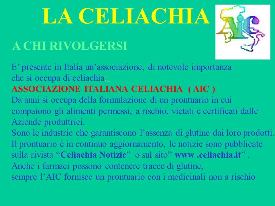 LA CELIACHIA A CHI RIVOLGERSI