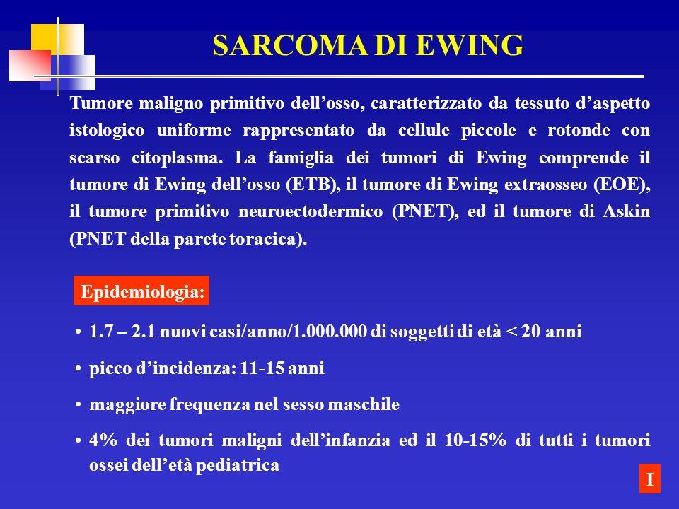 SARCOMA DI EWING