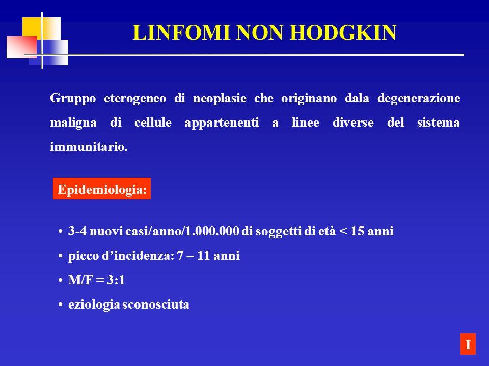 LINFOMI NON HODGKIN