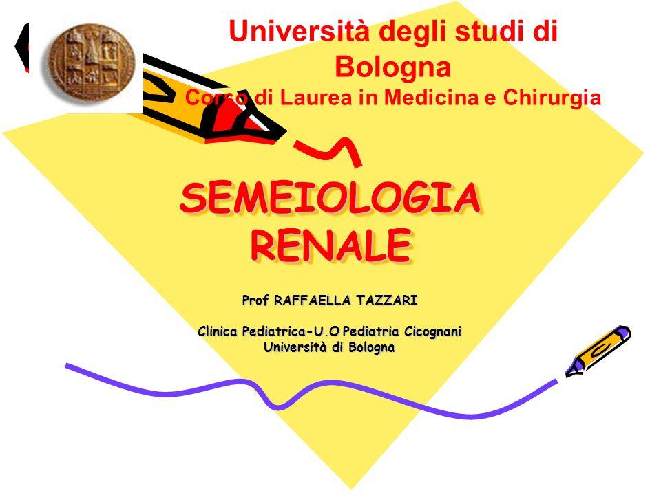 Prof RAFFAELLA TAZZARI Clinica Pediatrica-U.O Pediatria Cicognani