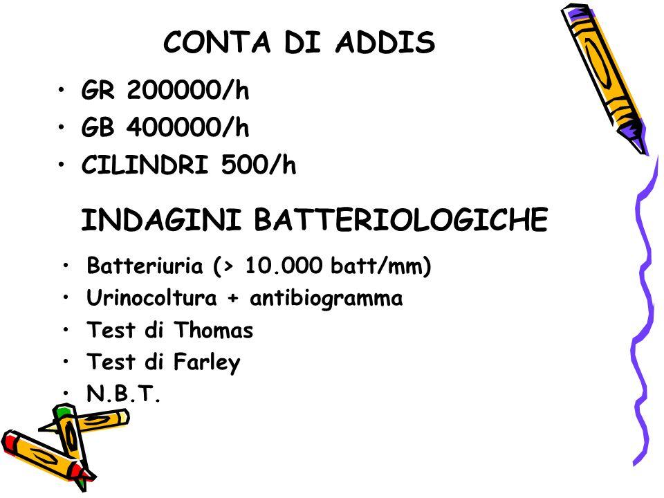 INDAGINI BATTERIOLOGICHE