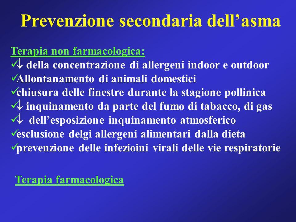 Prevenzione secondaria dell'asma