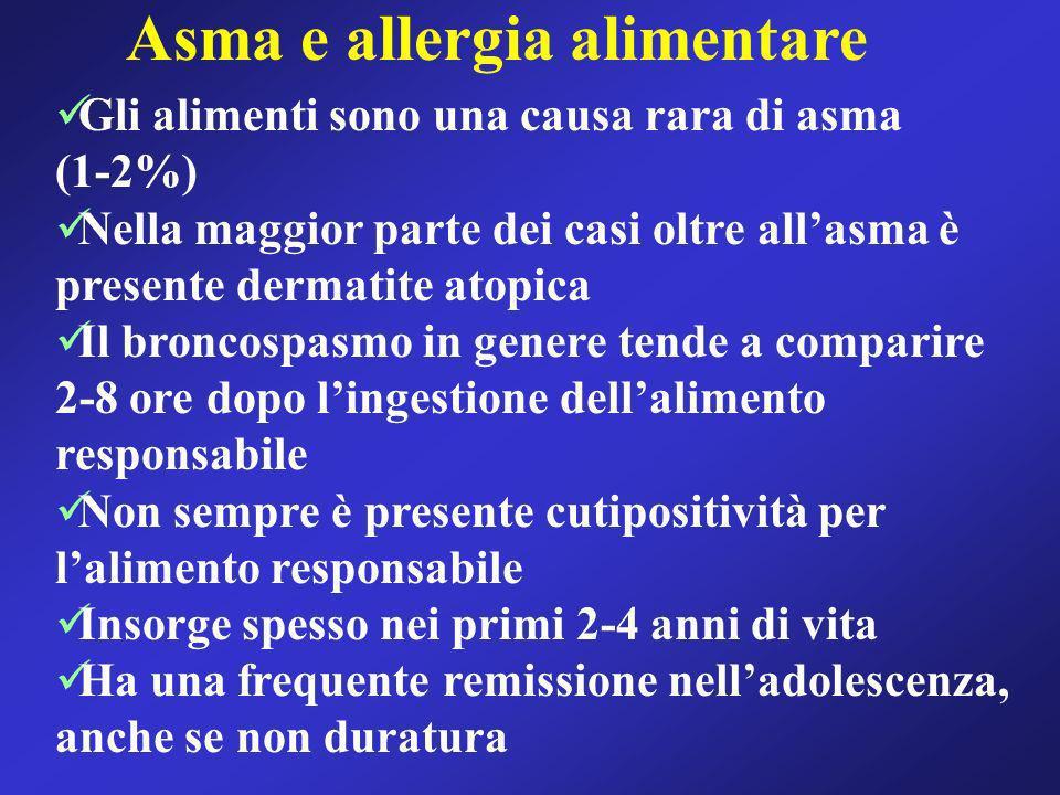 Asma e allergia alimentare