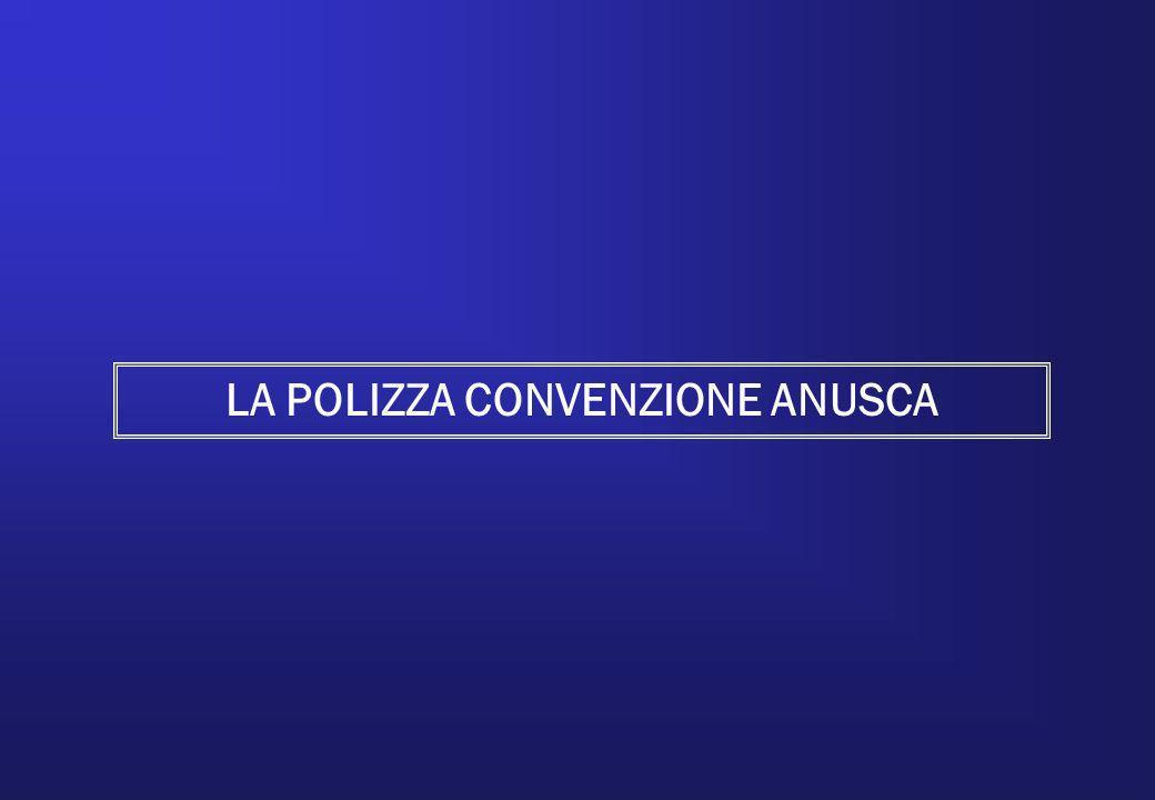 LA POLIZZA CONVENZIONE ANUSCA