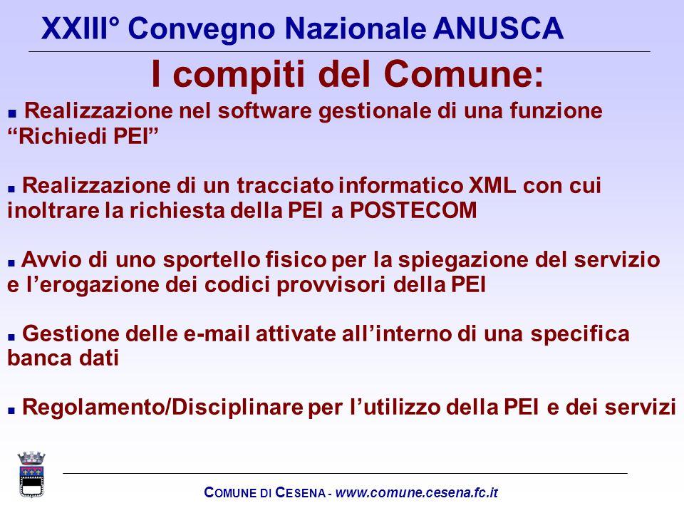 COMUNE DI CESENA - www.comune.cesena.fc.it