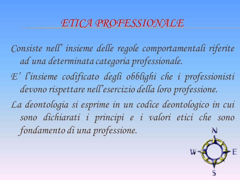 Etica professionale