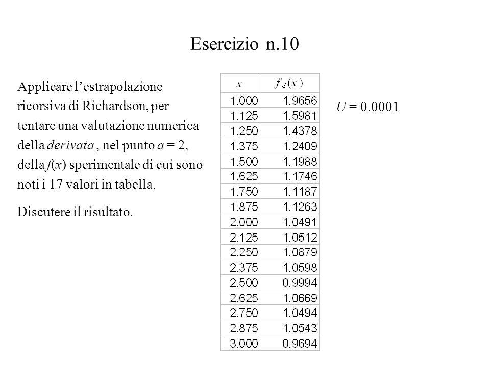 Esercizio n.10