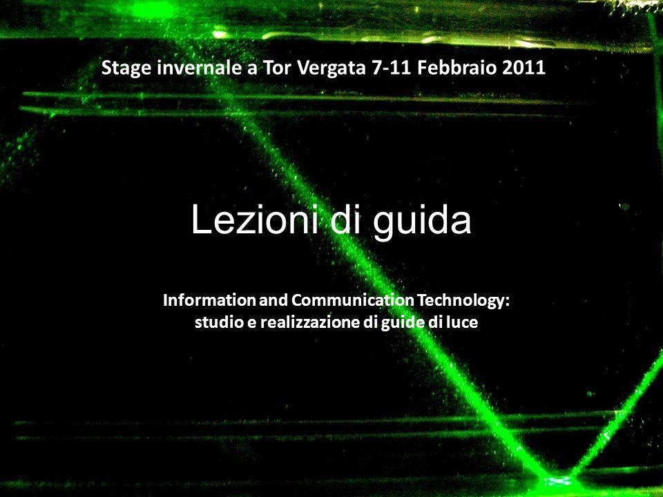 Lezioni di guida Stage invernale a Tor Vergata 7-11 Febbraio 2011