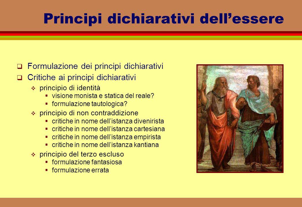 Principi dichiarativi dell'essere