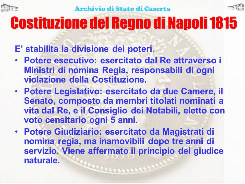 Costituzione del Regno di Napoli 1815
