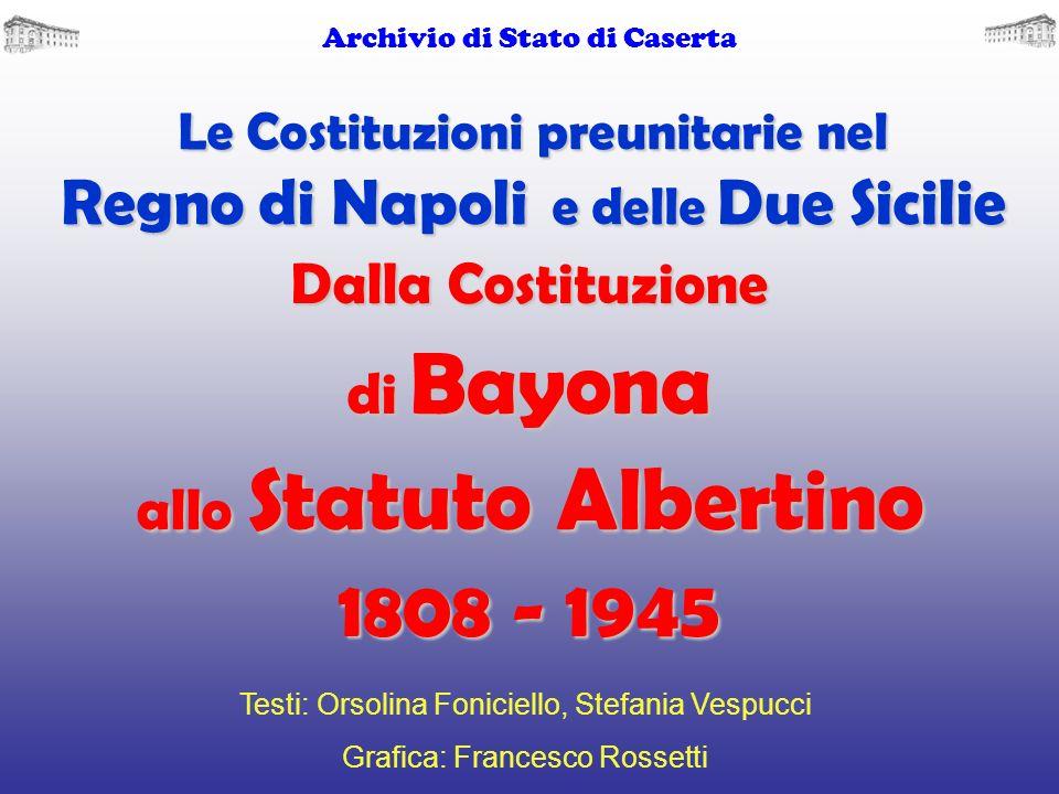 Le Costituzioni preunitarie nel Regno di Napoli e delle Due Sicilie