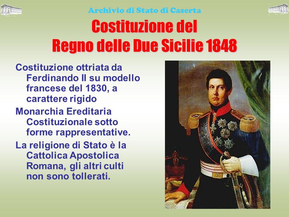 Costituzione del Regno delle Due Sicilie 1848