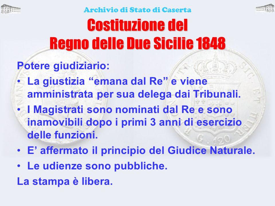 Costituzione del Regno delle Due Sicilie 1848 1848