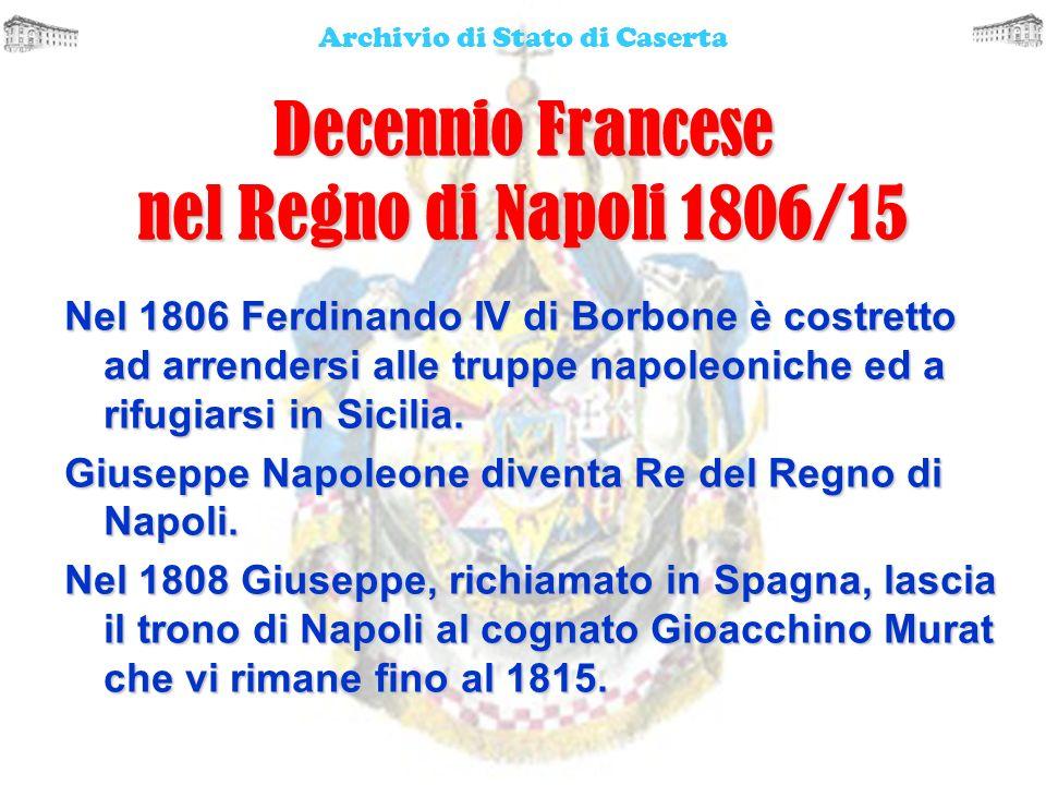 Decennio Francese nel Regno di Napoli 1806/15