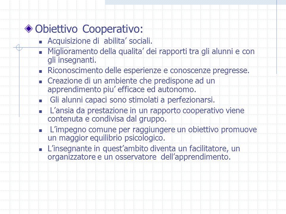 Obiettivo Cooperativo: