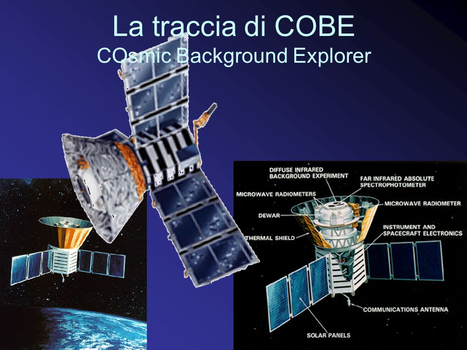 La traccia di COBE COsmic Background Explorer