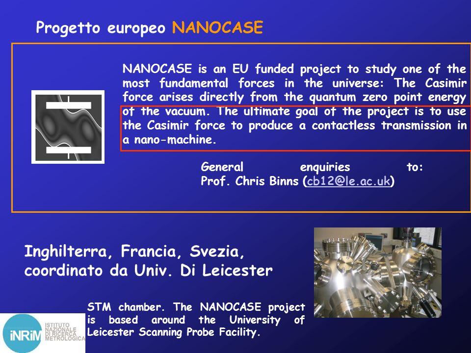 Progetto europeo NANOCASE