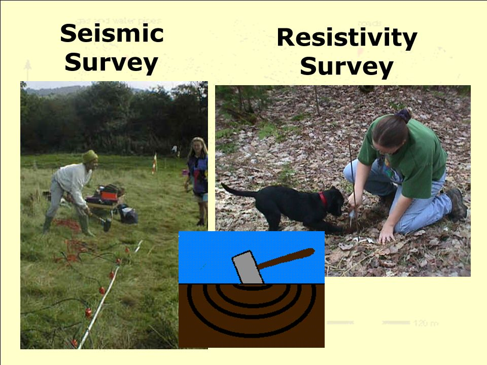 Seismic Survey Resistivity Survey