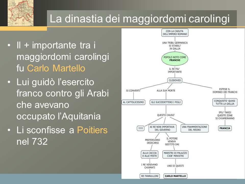 La dinastia dei maggiordomi carolingi