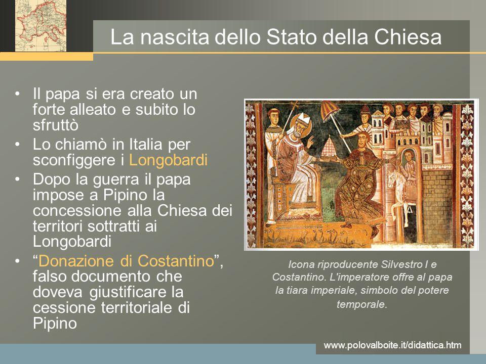 La nascita dello Stato della Chiesa