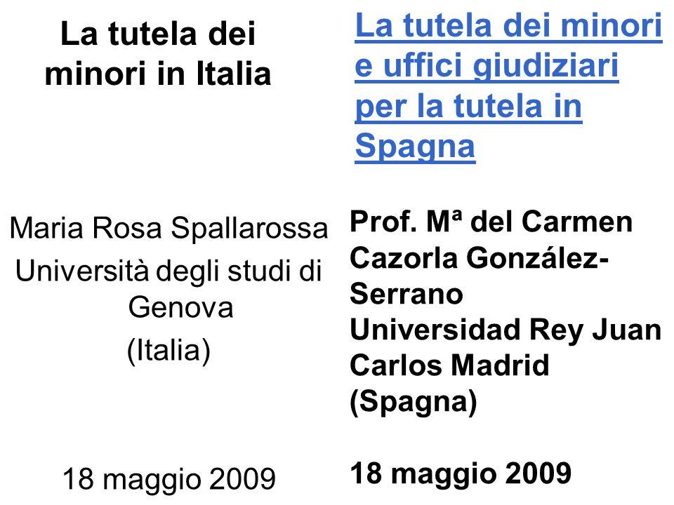 La tutela dei minori in Italia