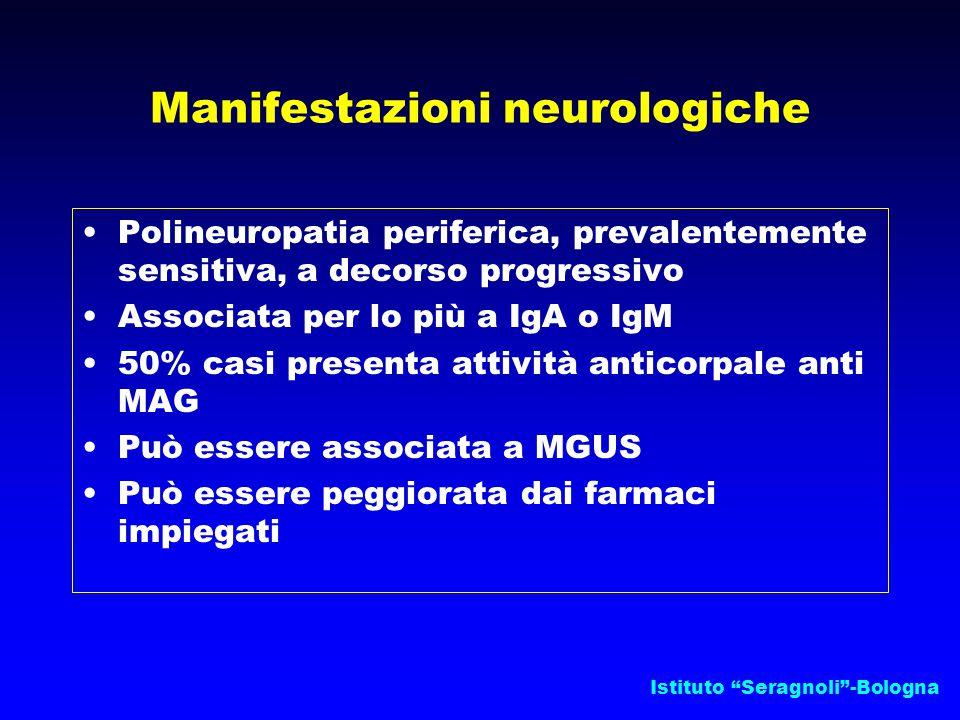 Manifestazioni neurologiche