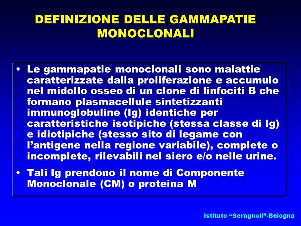 DEFINIZIONE DELLE GAMMAPATIE MONOCLONALI
